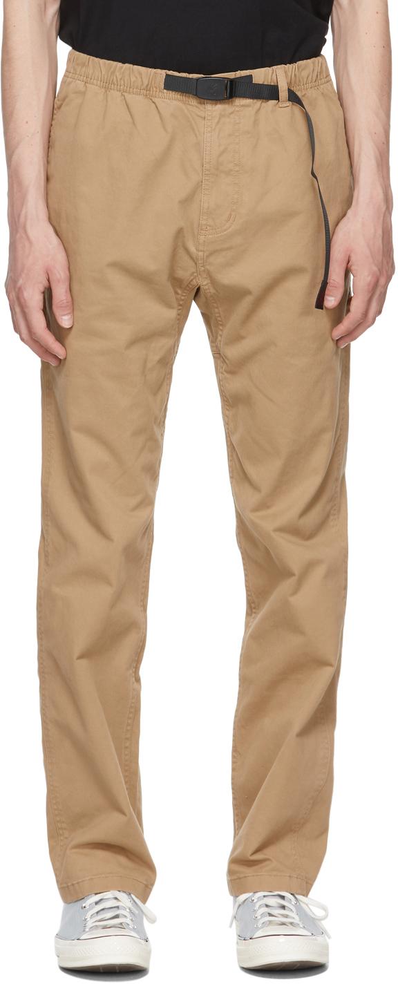 Gramicci 驼色 NN 长裤