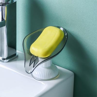 荷生活 (兩入組)升級版萬向瀝水皂盒 加大底盤免拆拔可轉瀝水方向