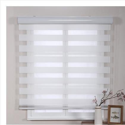 窗簾 卷簾升降遮光衛生間廁所廚房窗戶遮擋浴室防水免打孔百葉窗簾拉式