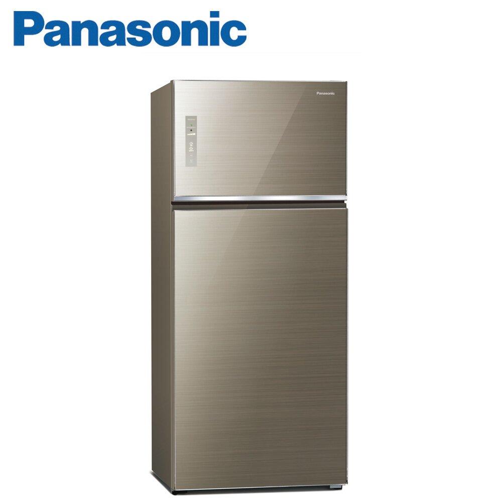 Panasonic國際牌579公升雙門變頻冰箱(NR-B581TG-N)-翡翠金