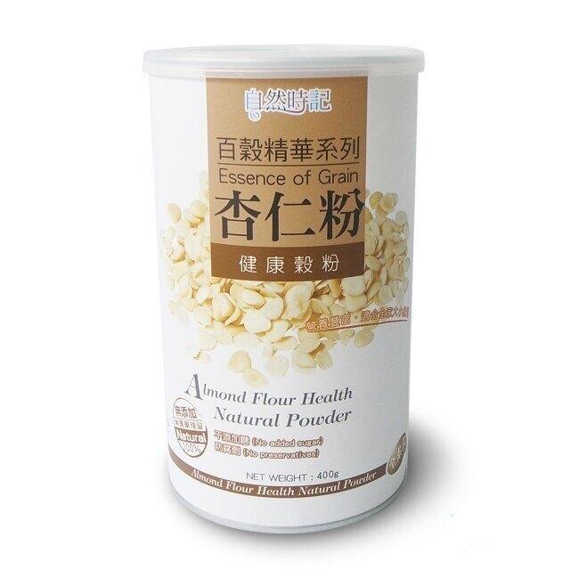 自然時記 百穀精華之杏仁粉400g/罐