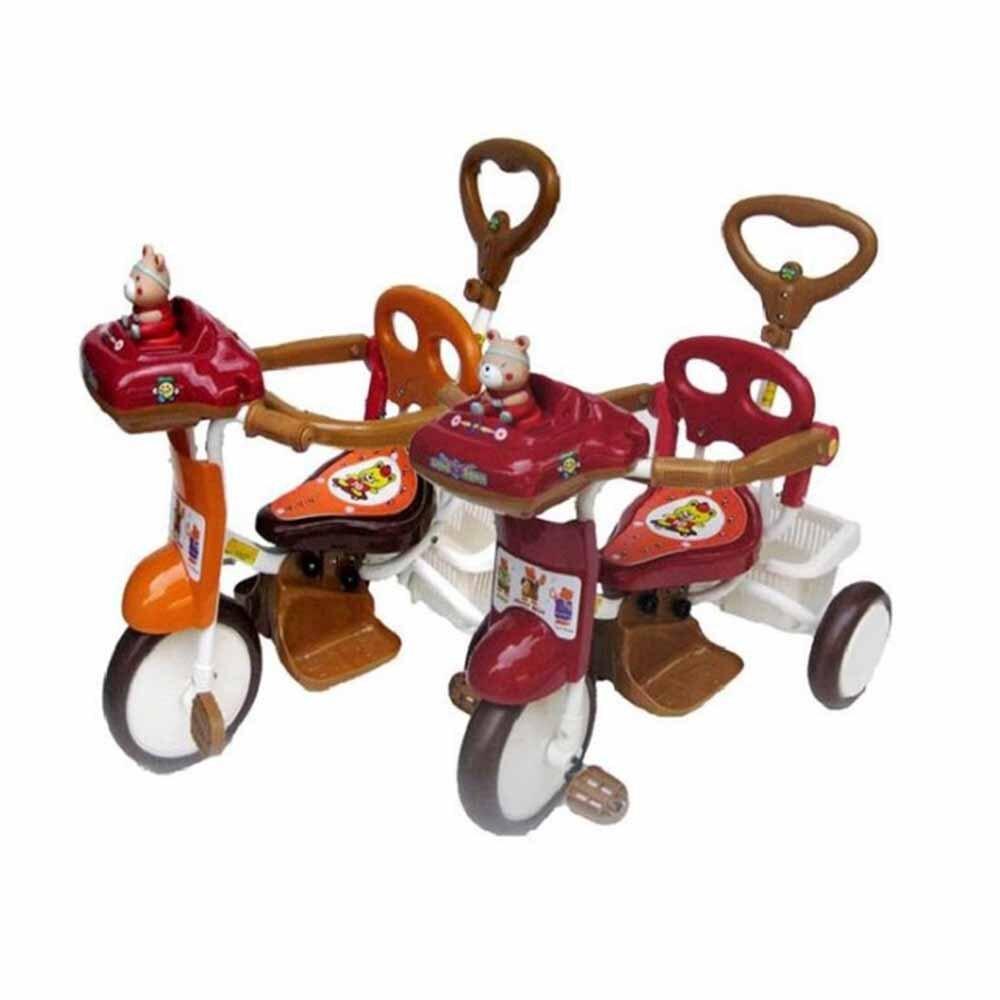 【MIT 精選童車】三輪車系列 - 快樂熊音樂三輪車 506P1