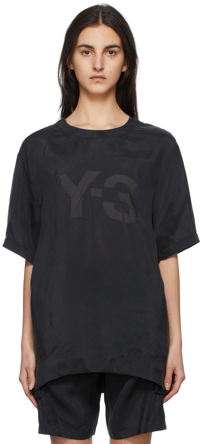 Y-3 黑色 CH3 Sanded T 恤