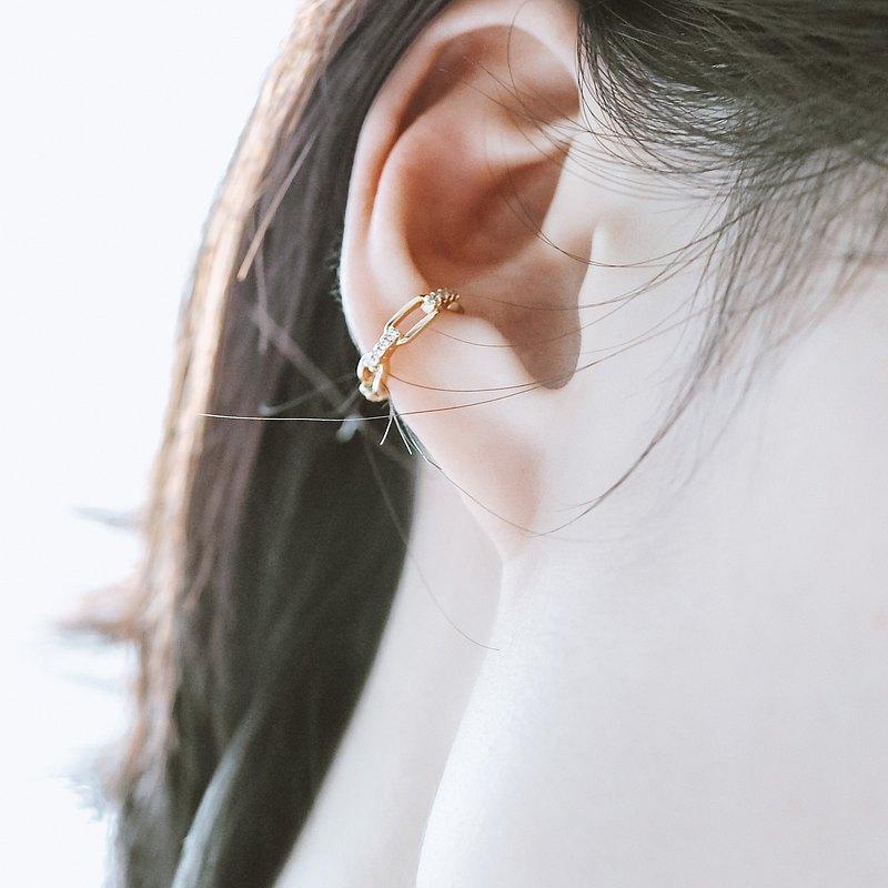 【母親節禮物】Link Chain No.2 無痛耳骨夾 耳骨扣
