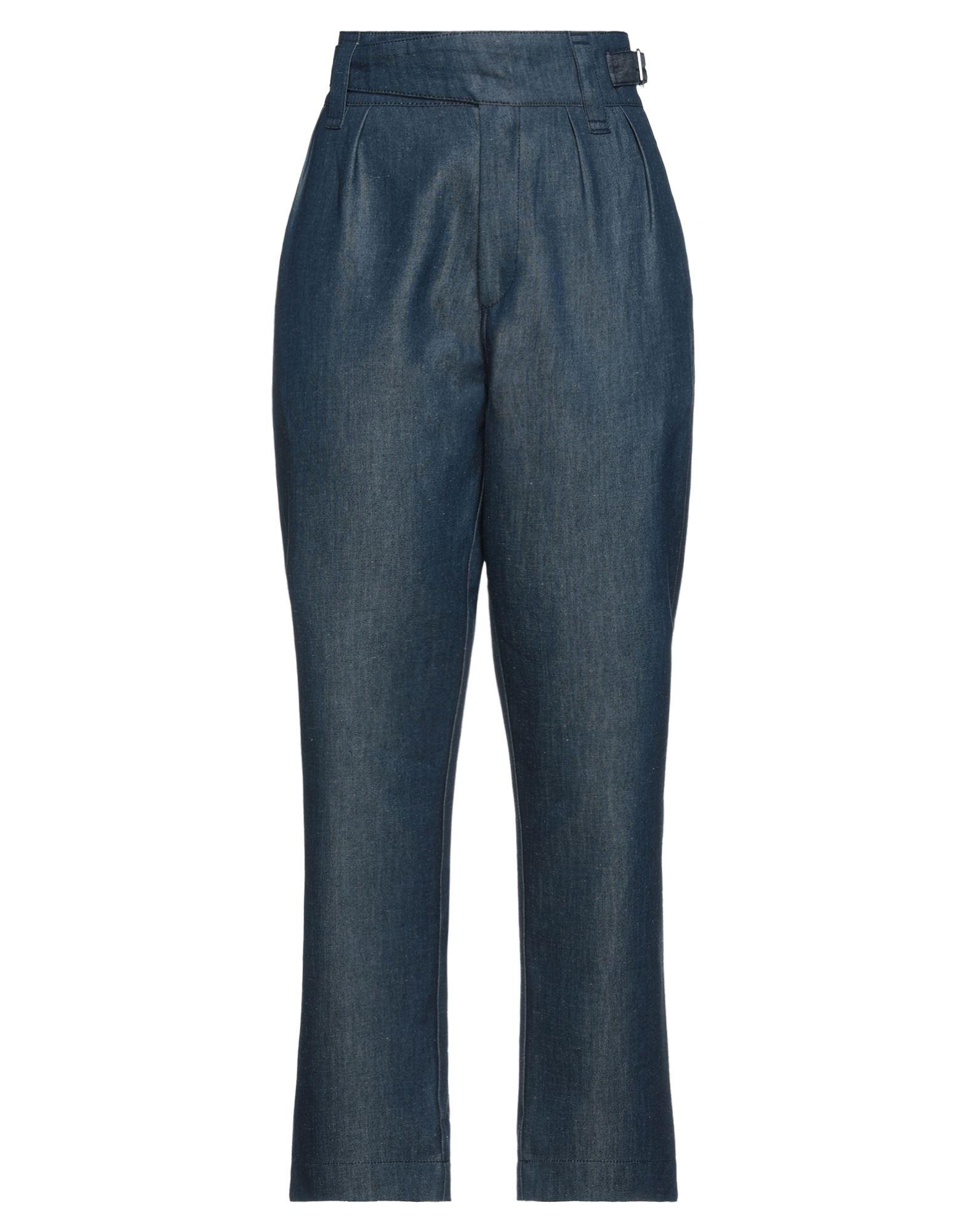 MAISON KITSUNÉ Denim pants - Item 42840751