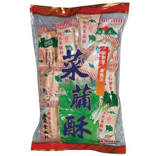 旭成 菜脯酥 396g