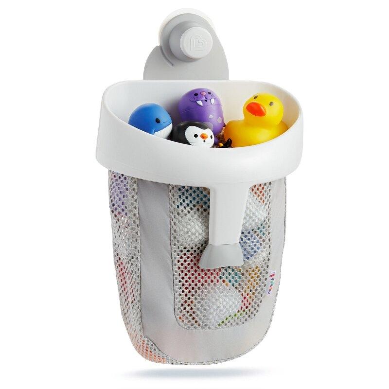 Munchkin 勺狀洗澡玩具收納袋 吸盤式 玩具收納網 滿趣健 1866