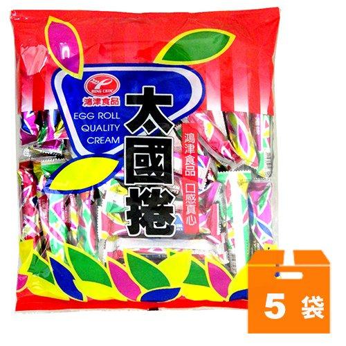 鴻津食品太國捲370g(5袋)/箱