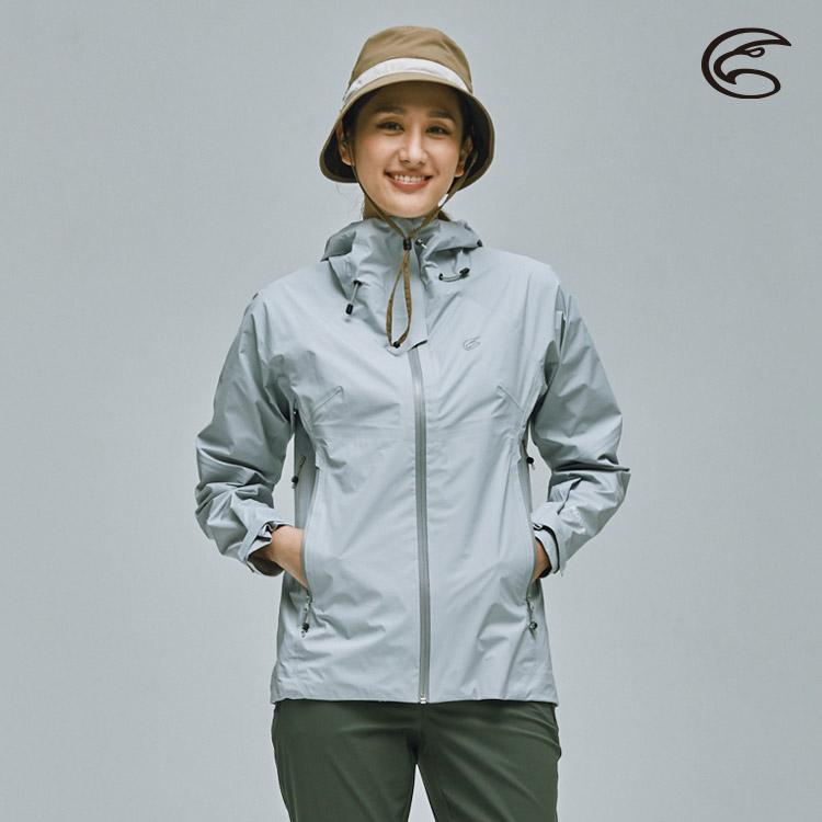 ADISI 女20D超輕量Xpore-3L防水透氣連帽外套AJ2111046 波光灰紫 (S-XL) / 防風 防潑水 快乾 輕量 環保 阻菌