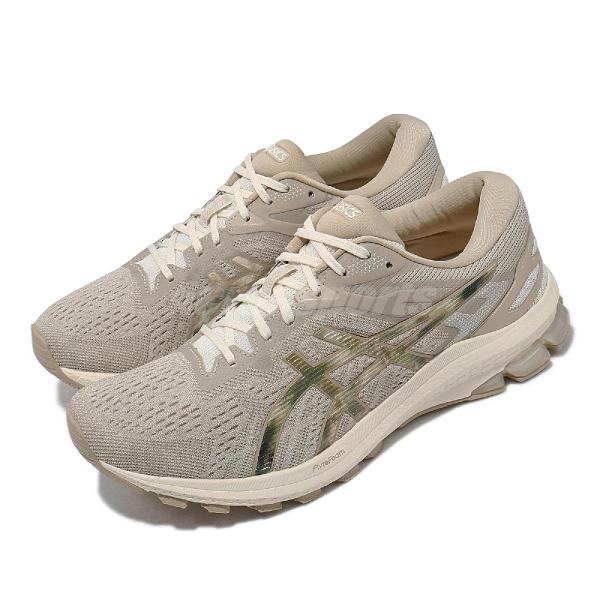 Asics 慢跑鞋 GT-1000 10 Earth Day 女鞋 永續環保 灰 米 支撐型 運動鞋 【ACS】 1012B084101