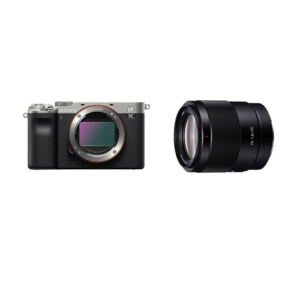 ◎相機專家◎ SONY α7C 標準街拍組合 單鏡組 銀 A7C ILCE-7C/S SEL35F18F 公司貨