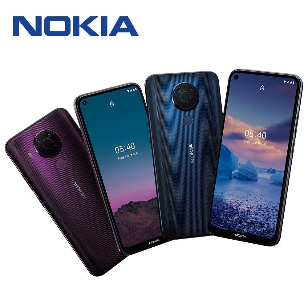 【快速到貨】NOKIA 5.4 (6G/64G) 6.39吋智慧型手機►贈64G記憶卡+快充線