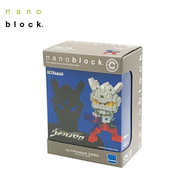 Nanoblock 迷你積木 ULTRAMAN ZERO 超人力霸王 ZERO CN-13