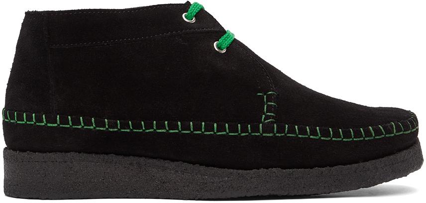 Comme des Garçons Homme Deux 黑色 Padmore & Barnes 联名 Willow 踝靴