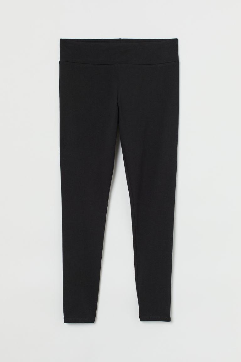 H & M - H & M+ 內搭褲 - 黑色
