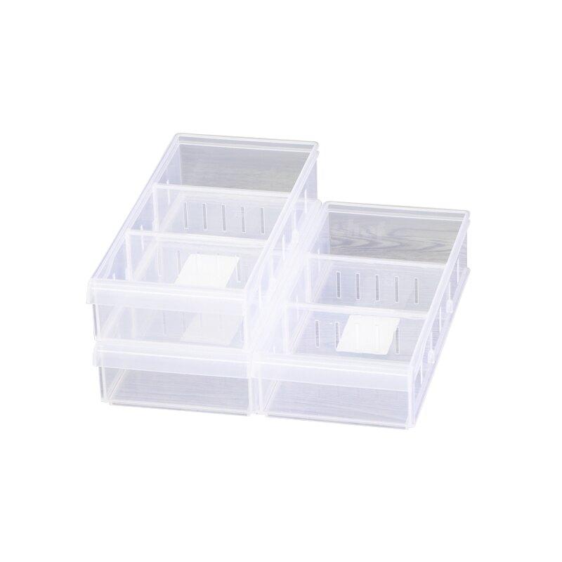 聯府Fine隔板整理盒分格收納盒1.25L分隔置物盒LF-3003-大廚師百貨