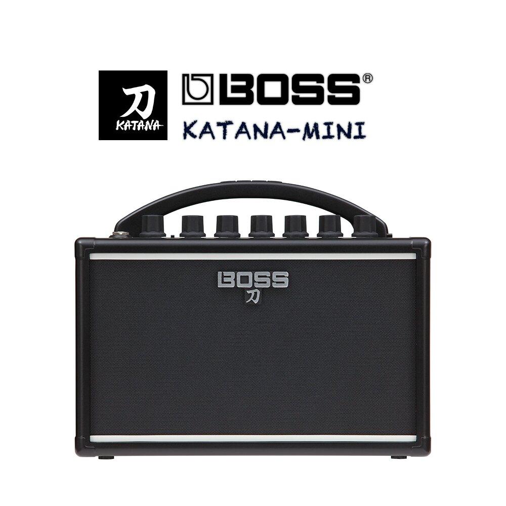 BOSS【 KATANA-MINI  】練習用電吉他小音箱 / 原廠公司貨保固