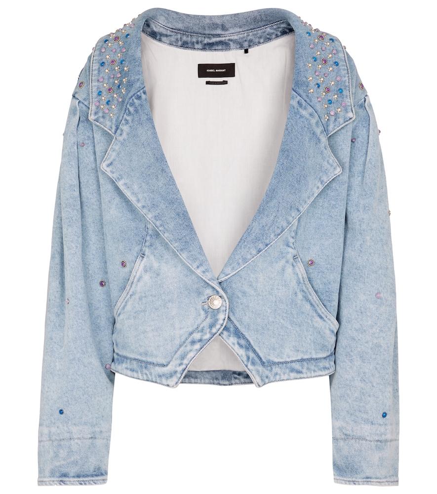 Depaline embellished denim jacket