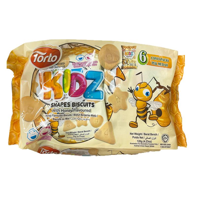 KIDZ餅乾形狀-蜂蜜120g 【康鄰超市】