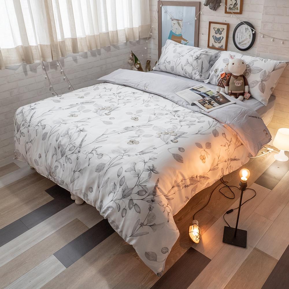 台灣製100%天絲 薄床包兩用被組合 橄欖樹Olive Tree【棉床本舖】