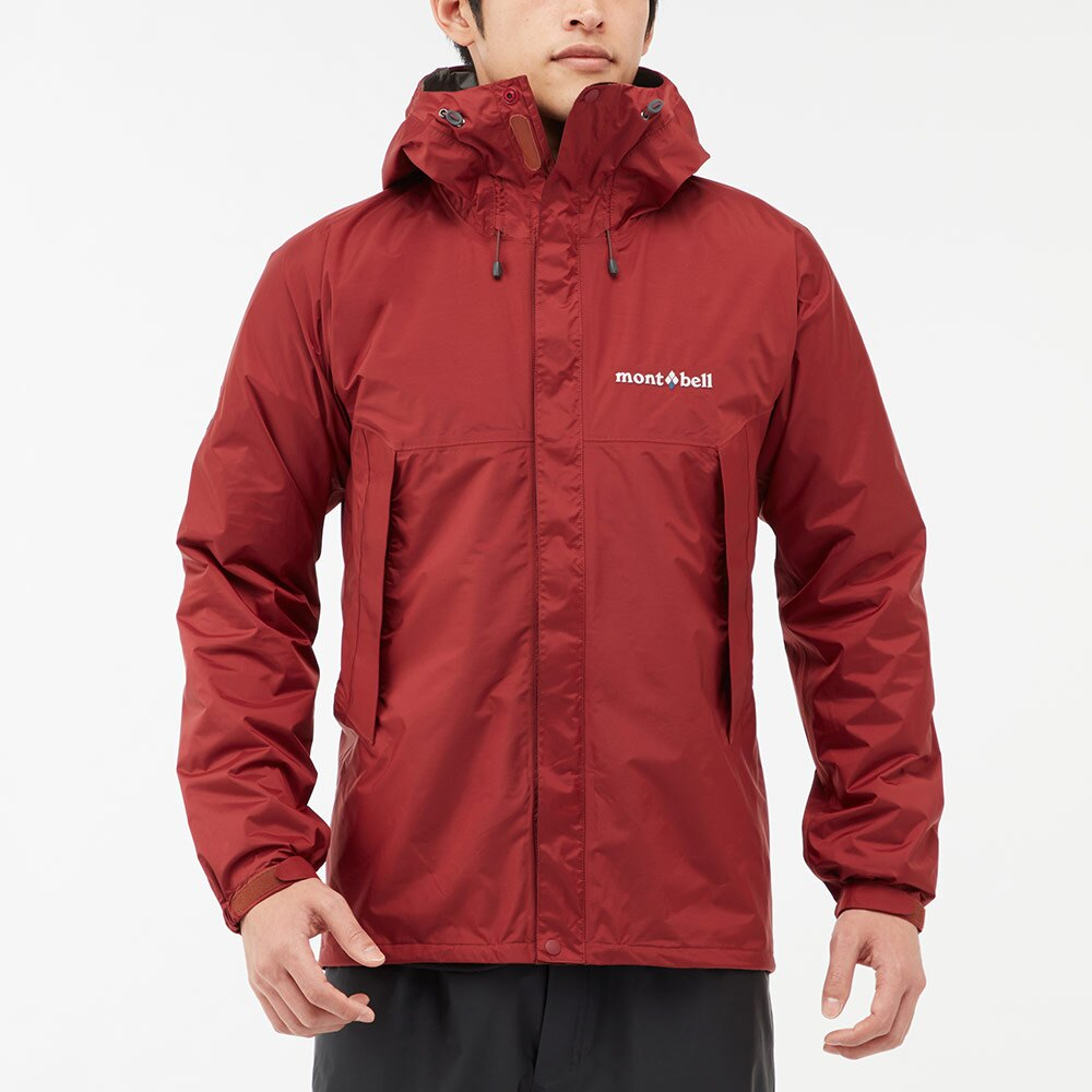 ├登山樂┤日本 mont-bell RAIN HIKER 男防水外套/風雨衣-黃 # 1128600YL
