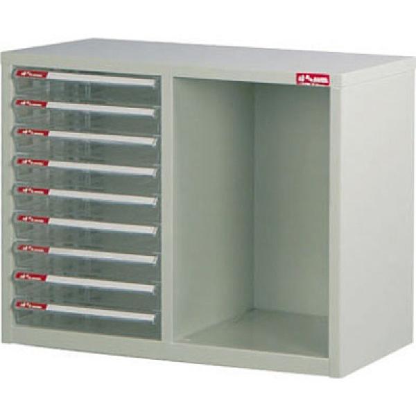 SHUTER 樹德 A4N-B209桌上二排型資料櫃(米白抽)