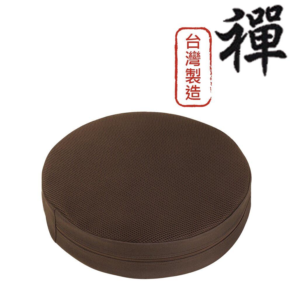 【源之氣】竹炭禪風圓形加高坐墊-和室/居家/木椅-台灣製( 二色可選 36x9cm ) RM-40402