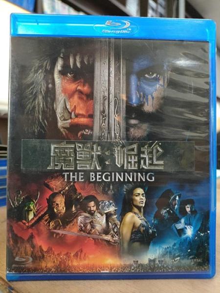 挖寶二手片-0Q01-223-正版藍光BD【魔獸崛起 3D+2D雙碟版】-熱門電影(直購價)