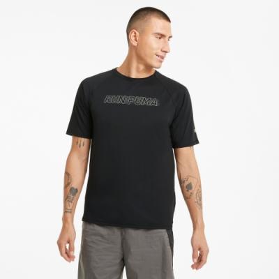 PUMA 慢跑系列Lite COOLadapt 男短袖T恤-黑-52022001