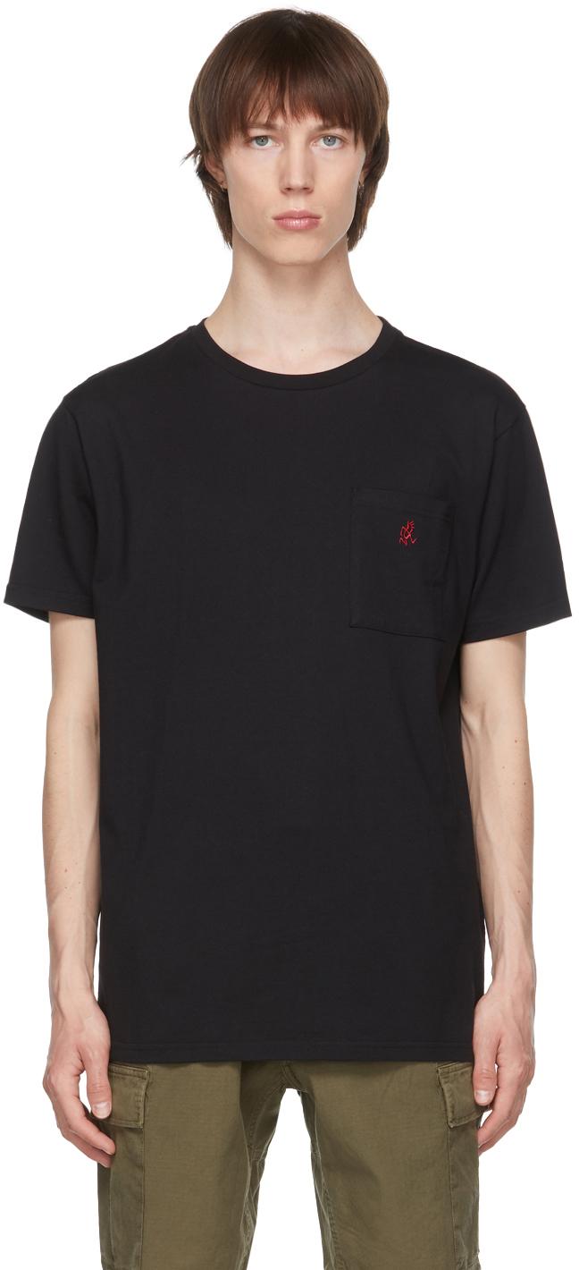 Gramicci 黑色 One Point T 恤