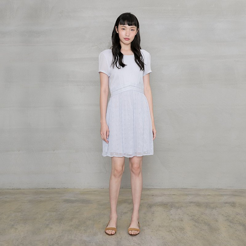 俏佳人美背深V洋裝 Fair Lady Deep V Backless Dress