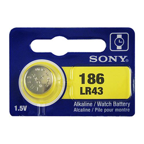 【SONY】 鈕扣型電池 LR43 (5入)