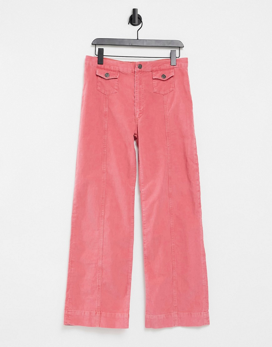 MiH Jeans straight leg jeans in pink