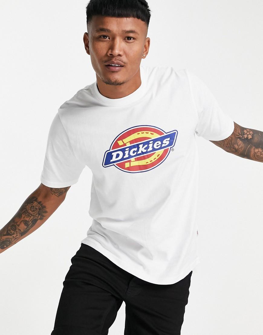 Dickies Horseshoe Icon Logo t-shirt in white