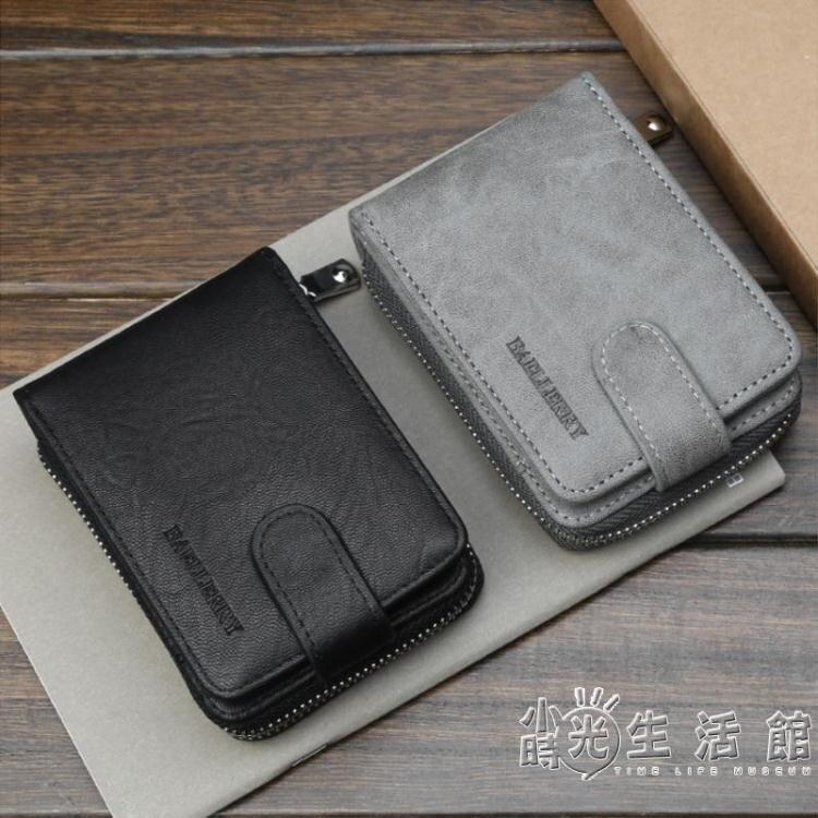復古多功能卡包男士駕駛證皮套錢包一體行駛證駕照本男防盜刷卡包