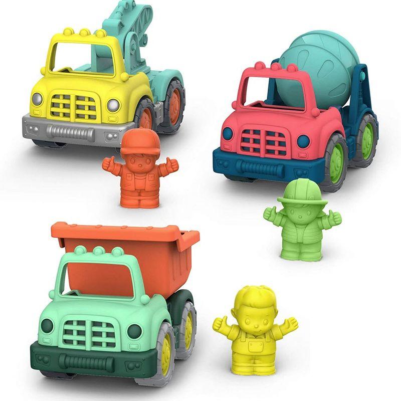美國【B.Toys】Wonder Wheels系列 捲袖子工程小隊(VE1048Z)★衛立兒生活館★