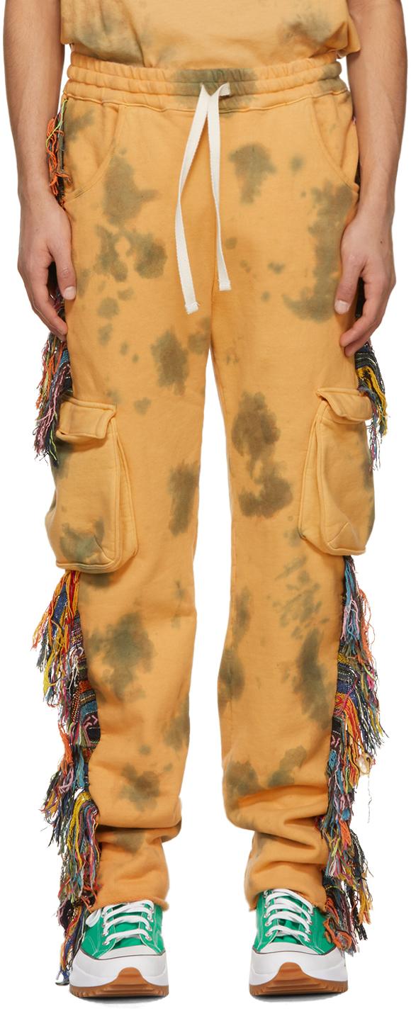 Alchemist 橙色 Guess 联名 Dawn Riders 长裤