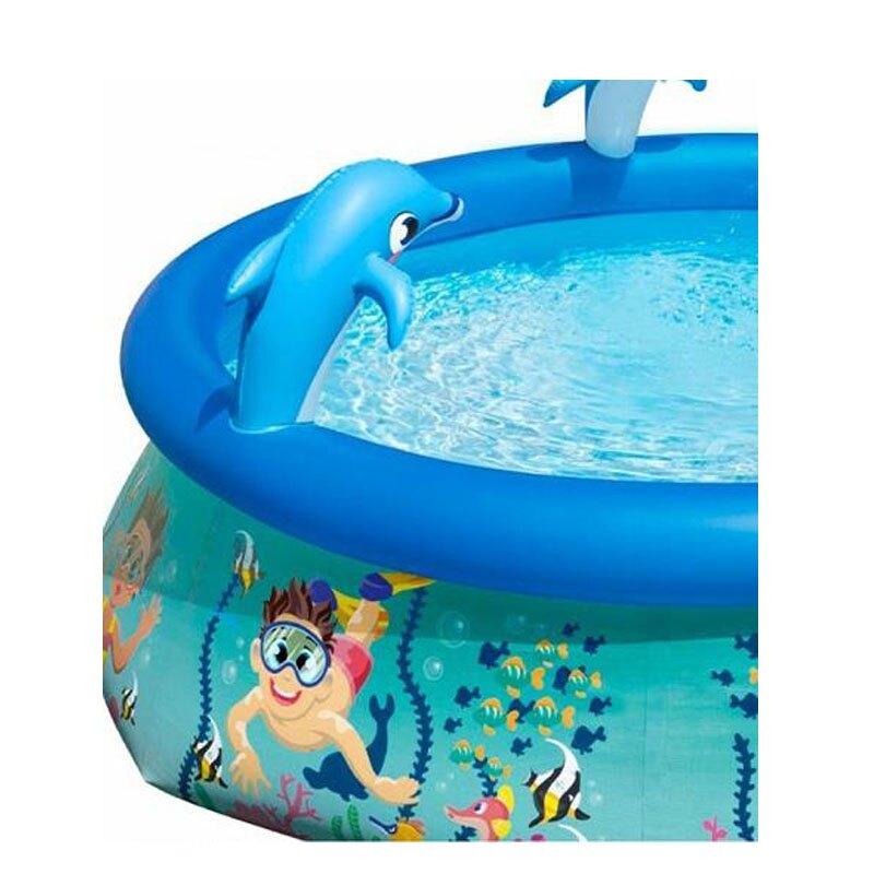 [COSCO代購] W2621064 Bestway 噴水海豚泳池