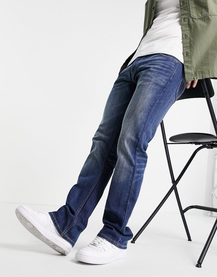Levi's 527 slim bootcut jeans-Blue