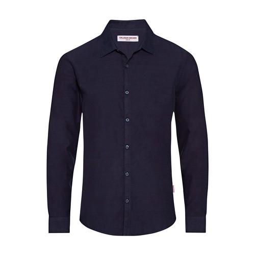 Giles Brushed Denim Cls shirt