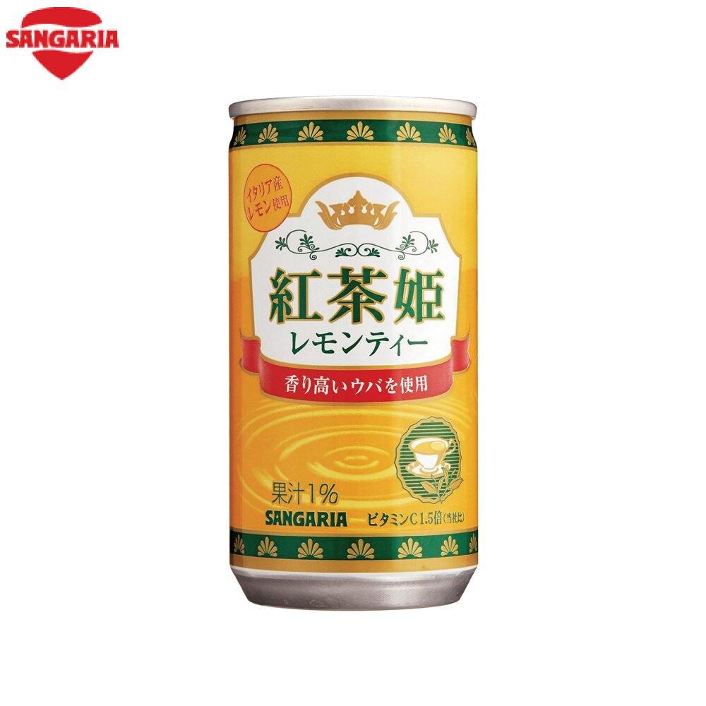 日本-Sangaria紅茶姬檸檬茶-190ml罐