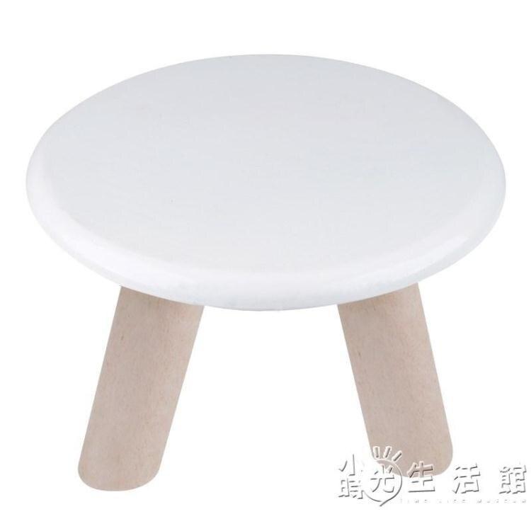 小凳子家用實木小矮凳換鞋凳時尚木凳成人兒童小椅子創意小板凳