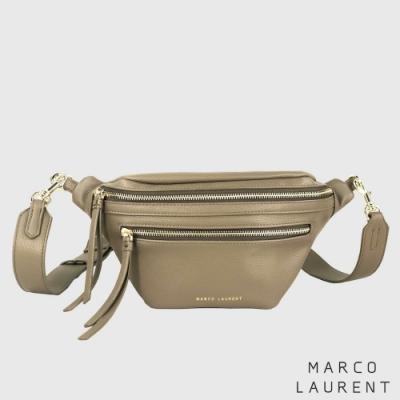 MARCO LAURENT Precursor 寬肩帶腰包 - 駝色