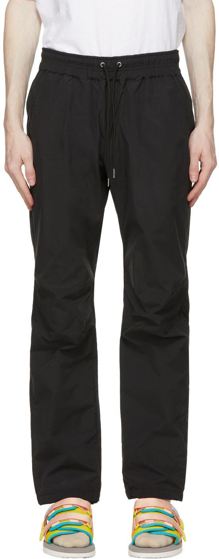 John Elliott 黑色抽绳长裤