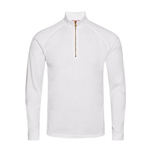 Corson Sea Island Half-Zip Sea Cotton Sweatshirt