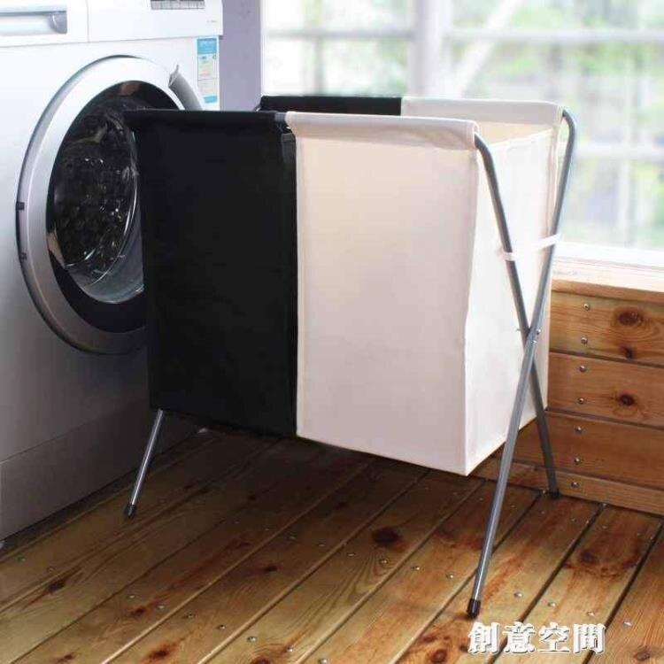 摺疊分類布藝收納臟衣籃大號臟衣簍防水洗衣籃臟衣服家用筐衣物婁NMS