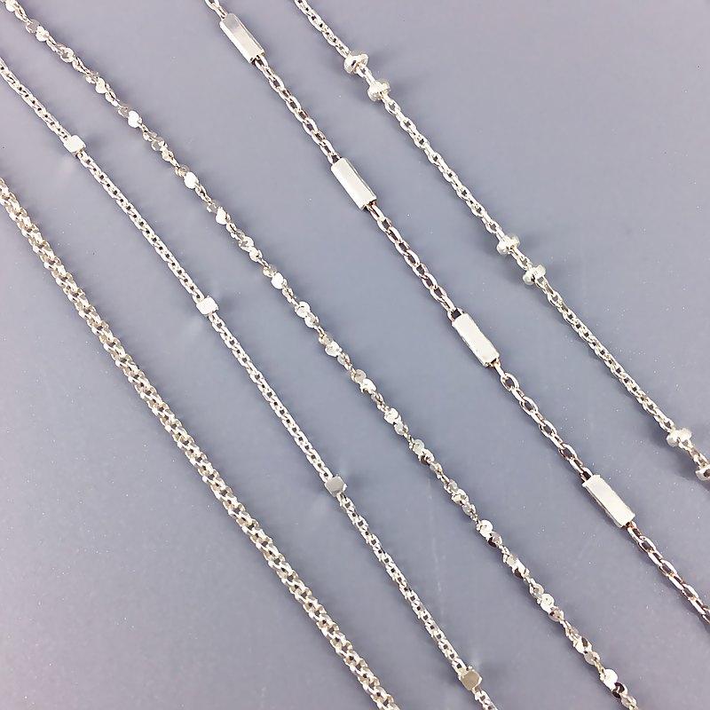 925純銀項鍊【細緻鎖骨XS款】裸鏈 單鏈 鎖骨鏈 短項鍊 細