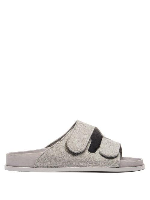Birkenstock X Toogood - The Forager Felt Sandals - Mens - Light Grey