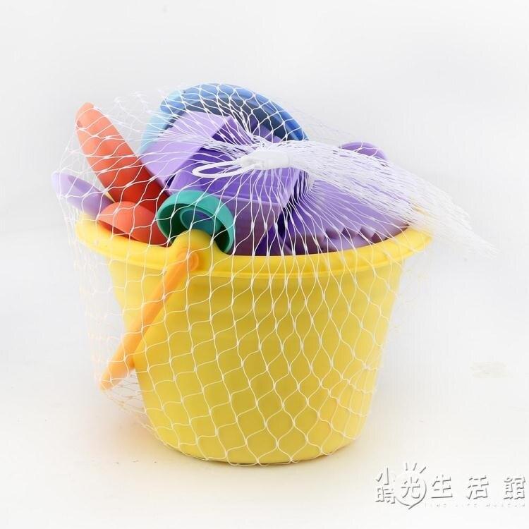貝恩施兒童沙灘玩具套裝玩沙挖沙鏟子寶寶洗澡玩具軟膠戲水1-3歲