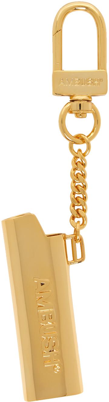 Ambush 金色 Lighter Case 钥匙扣